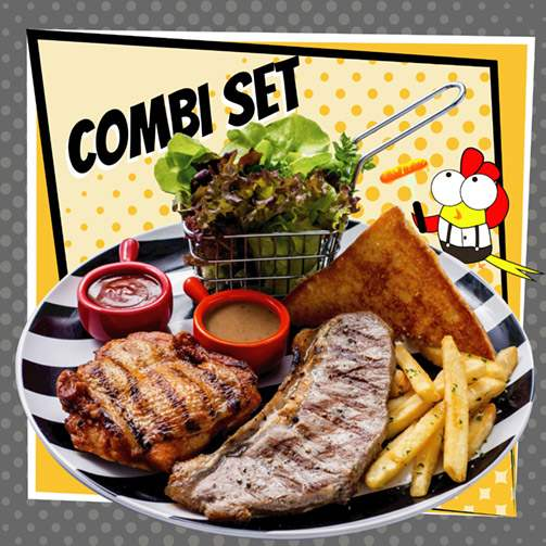 Hungry Nerd Combi Set